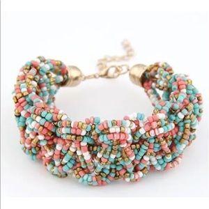 Jewelry - Cobra style bead bracelet